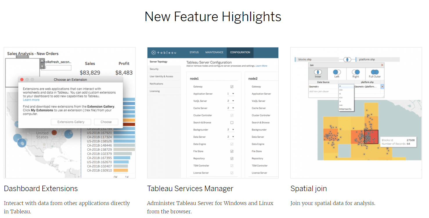 2018 2 is here: Tableau new release
